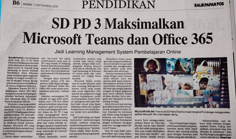 SD PD 3 Maksimalkan Microsoft Teams dan Office 365